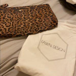 New Fawn Design leopard clutch